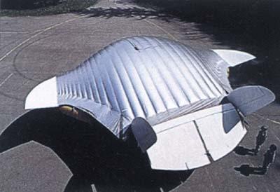 Швейцарский гибрид самолета с дирижаблем