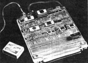 """В 4/1989 журнала появилась статья  """"От индикаторов к экрану """"...  Схема похожа на схему замены КР580ВГ75 для..."""